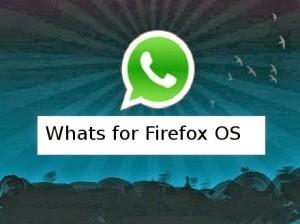 Whatsapp for firefox