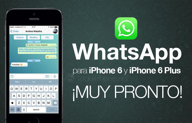 whatsapp gratis iphone 6
