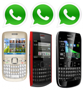 Whatsapp for Nokia c2 and c3