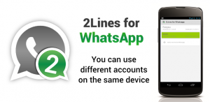 whatsapp for two numbers