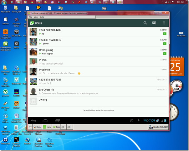 can i use whatsapp on my pc