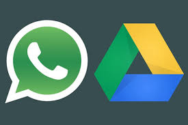whatsapp e google drive