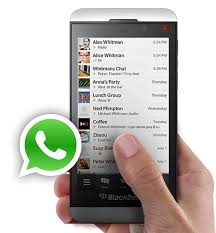 whatsapp per blackberry