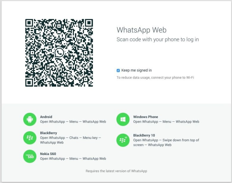 You can now use WhatsApp on your Mac, but there's a catch. Photo: Cult of Mac