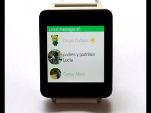 Whatsapp for Android Wear