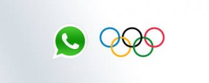 whatsapp olympic rings