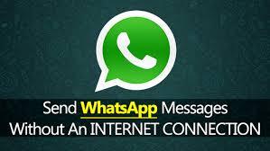 WA for iOS send messages offline