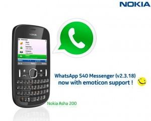 Whatsapp for Asha 200 NOKIA b
