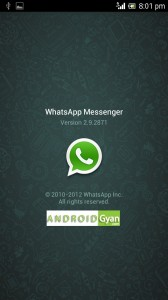 whatsapp for android 2.2 and 2.3.6