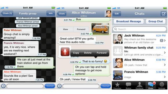 Whatsapp for FACEBOOK def