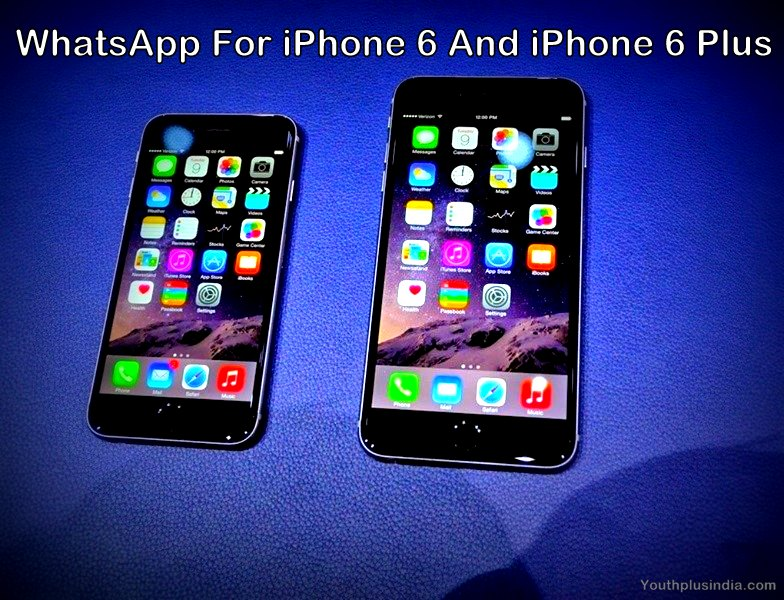 Whatsapp for iPHONE 6 plus