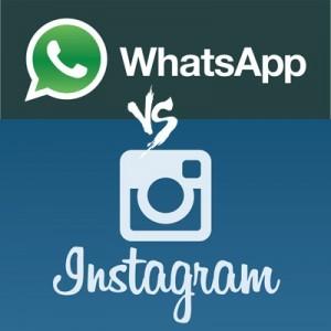 Whatsapp vs Instagram