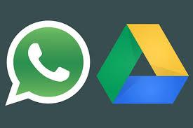 whatsapp e google drive