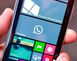 WhatsApp Windows Phone voice call
