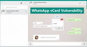 whatsapp web vulnerability